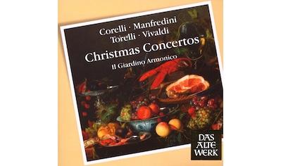 Musik-CD »Christmas Concertos / Il Giardino Armonico/Antonini« kaufen