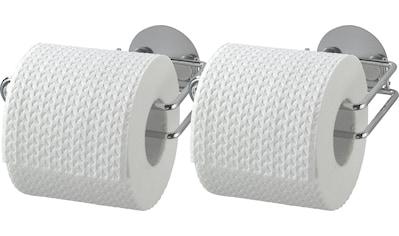 WENKO Set: Toilettenpapierhalter »Turbo - Loc®« kaufen