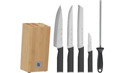 WMF Messerblock »Kineo«, 6 tlg., Messerklingen aus Spezialklingenstahl kaufen