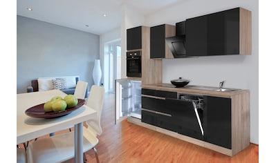 Küchenzeile »Boston«, mit E - Geräten, Breite 280 cm kaufen