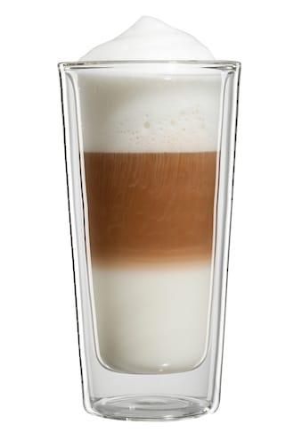 Bloomix Latte-Macchiato-Glas »Milano Grande«, (Set, 4 tlg.), Doppelwandig, 4-teilig kaufen