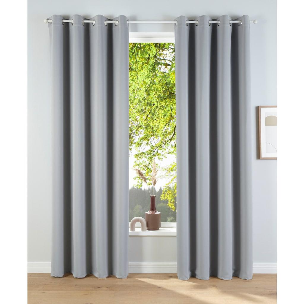 my home Verdunkelungsvorhang »Solana«, Breite 140 cm