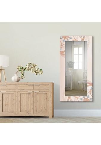 Artland Wandspiegel »Boho Mandala«, gerahmter Ganzkörperspiegel mit Motivrahmen,... kaufen