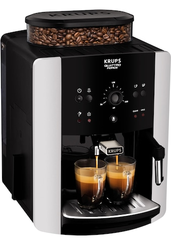 Krups Kaffeevollautomat EA8118 Arabica Quattro Force, 1,8l Tank, Kegelmahlwerk kaufen