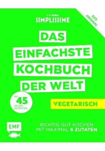 Buch »Simplissime - Das einfachste Kochbuch der Welt: Vegetarisch / Jean-Francois Mallet« kaufen