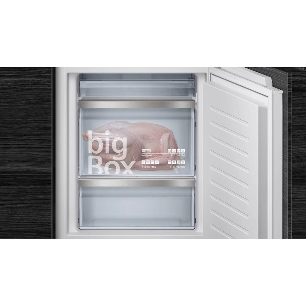 SIEMENS Einbaukühlgefrierkombination »KI86SADE0«, iQ500
