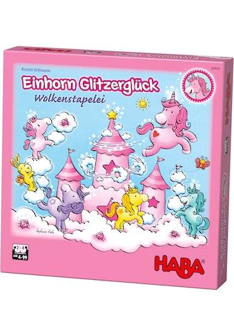 """Haba Spiel, """"Einhorn Glitzerglück  -  Wolkenstapelei"""" kaufen"""
