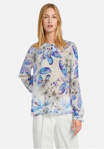 Uta Raasch Langarmbluse »Schlupf-Bluse«, in transparenter Optik kaufen