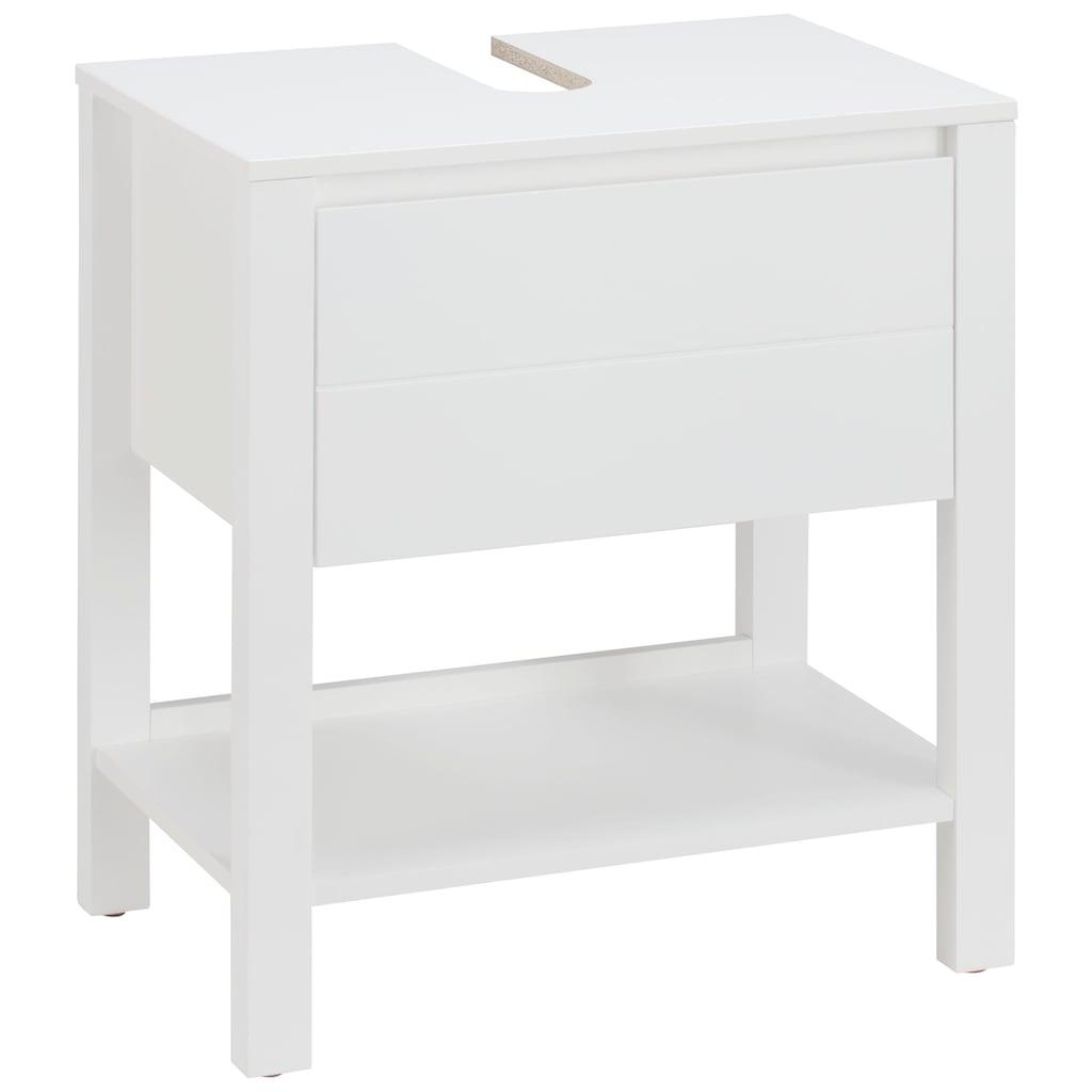 Home affaire Waschbeckenunterschrank »Kaika«, Breite 60 cm
