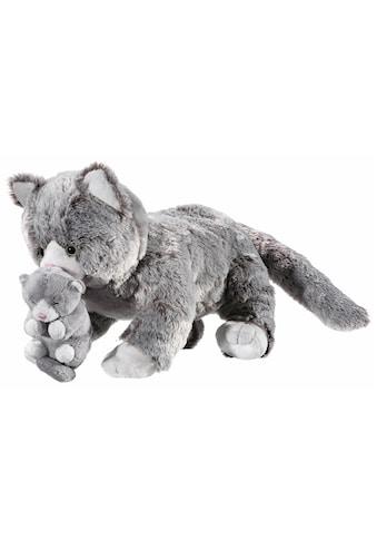 Heunec® Kuscheltier »Natureline Softissimo Katze mit Baby« kaufen