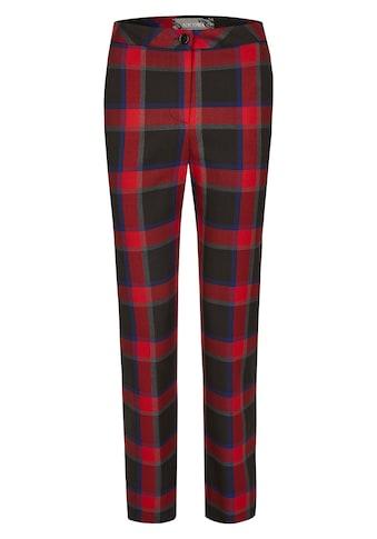 Nicowa Lange Hose mit Tartan-Muster - MIKOLA kaufen