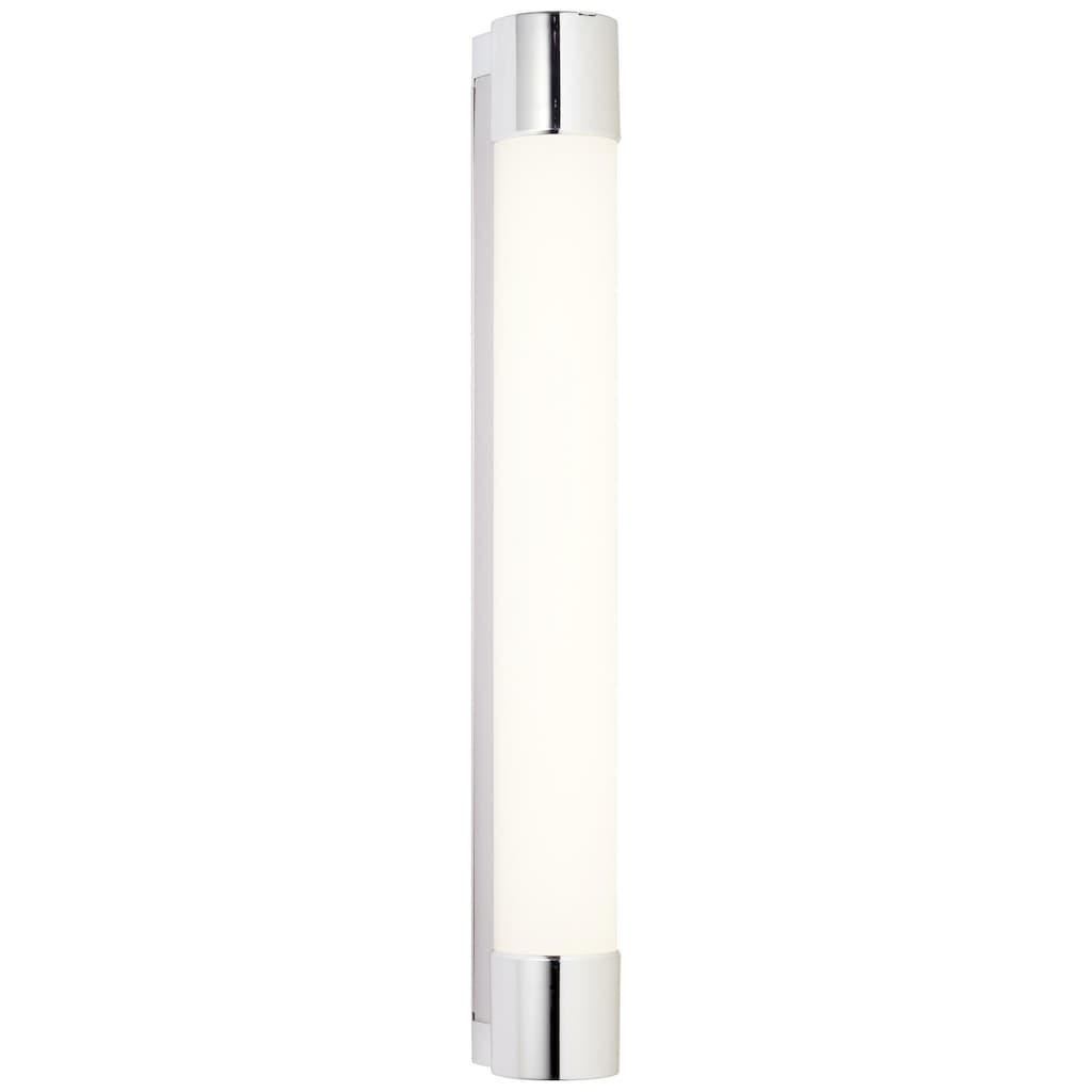 Brilliant Leuchten Horace LED Wandleuchte Steckdose weiß/chrom