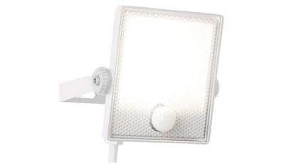Brilliant Leuchten Dryden LED Außenwandstrahler 13cm Bewegungsmelder weiß kaufen