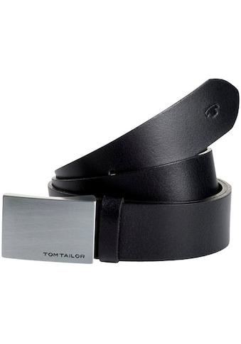 TOM TAILOR Koppelgürtel, mit Schriftzug auf der Schließe kaufen