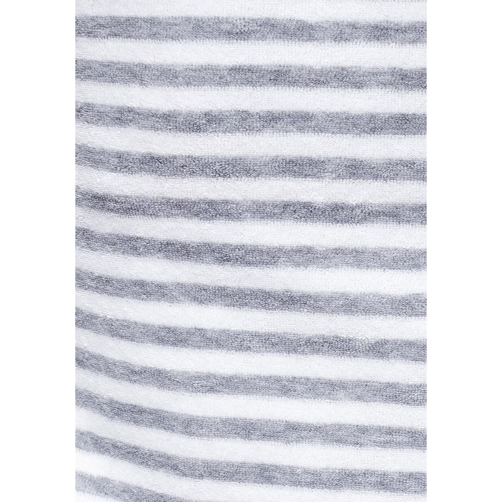 KangaROOS Damenbademantel »Luana«, mit modernen Streifen