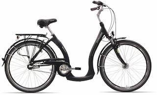 HAWK Bikes Cityrad »City Wave Easy Boarding«, 3 Gang Shimano