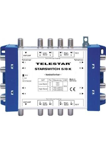 TELESTAR SAT - Multischalter »STARSWITCH 5/8 K inkl. F - Schnellverbinder« kaufen