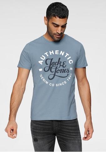 Jack & Jones T-Shirt »MOON TEE CREW NECK« kaufen