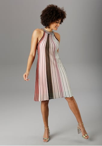 Aniston SELECTED Partykleid, im modischen Streifen kaufen