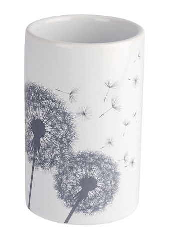 Bad-Accessoires im schönen Pusteblumen-Dessin kaufen