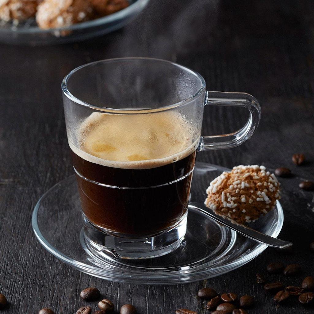 LEONARDO Espressotasse »SENSO«, (Set, 6 tlg.), Hitzebeständig und widerstandsfähig, 6-teilig