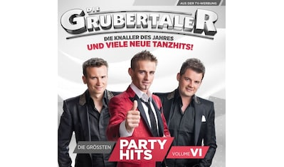 Musik-CD »Die größten Partyhits Vol.6 / Grubertaler,Die« kaufen