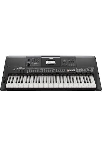 Yamaha Keyboard »PSR-E463RML«, mit USB Audio Recorder; inkl. 1 Online Stunde Keyboardunterricht der Yamaha Musikschule kaufen