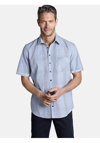 Charles Colby Kurzarmhemd »LAMORAK«, mit kleinen Karos kaufen
