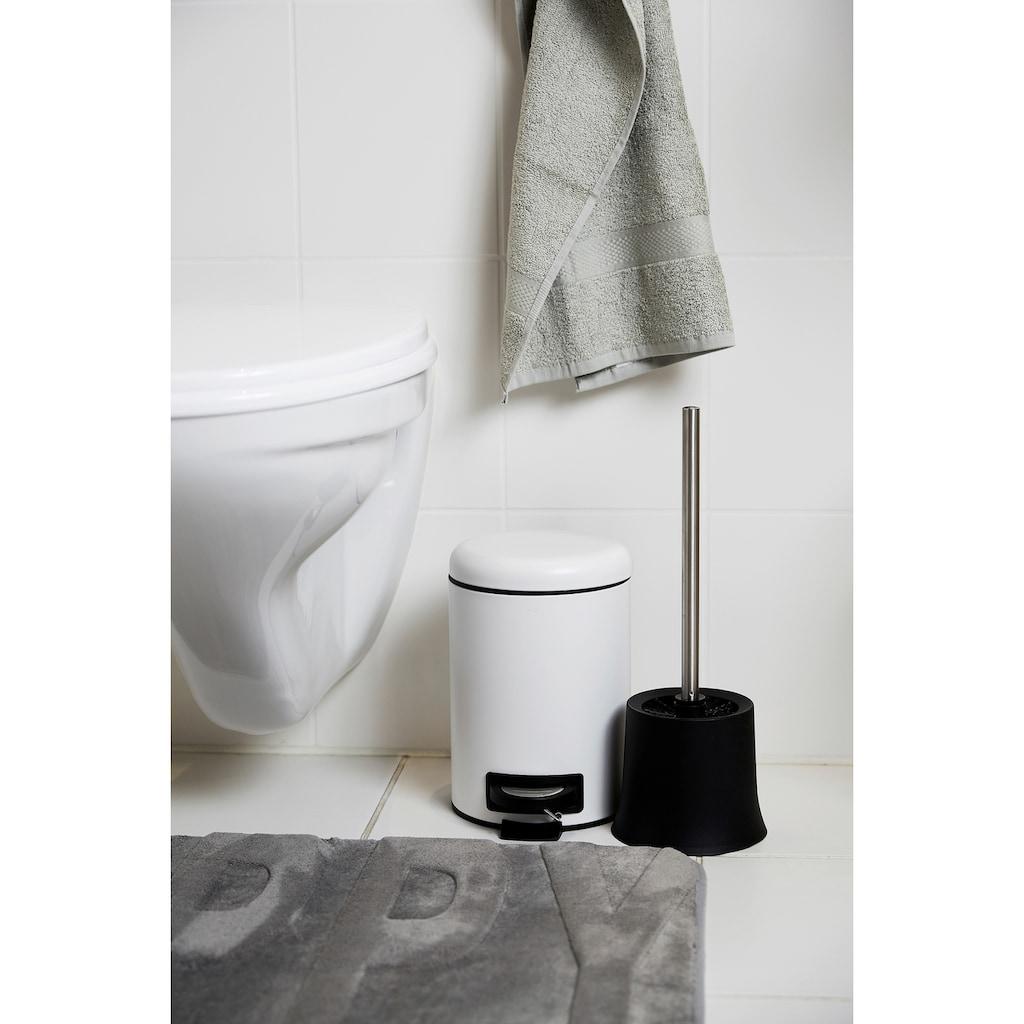 WENKO WC-Garnitur »Basic Schwarz«, schwarz