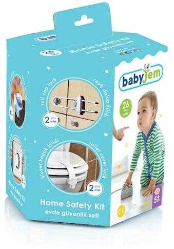 Babyjem Kindersicherung »Sicherheitsset für Babys«, (Set, 26 St.), Made in Europe kaufen