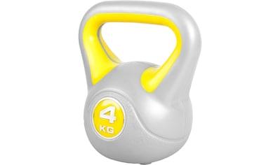 GORILLA SPORTS Kettlebell »Kettlebell Stylish Kunststoff 4 kg«, 4 kg kaufen