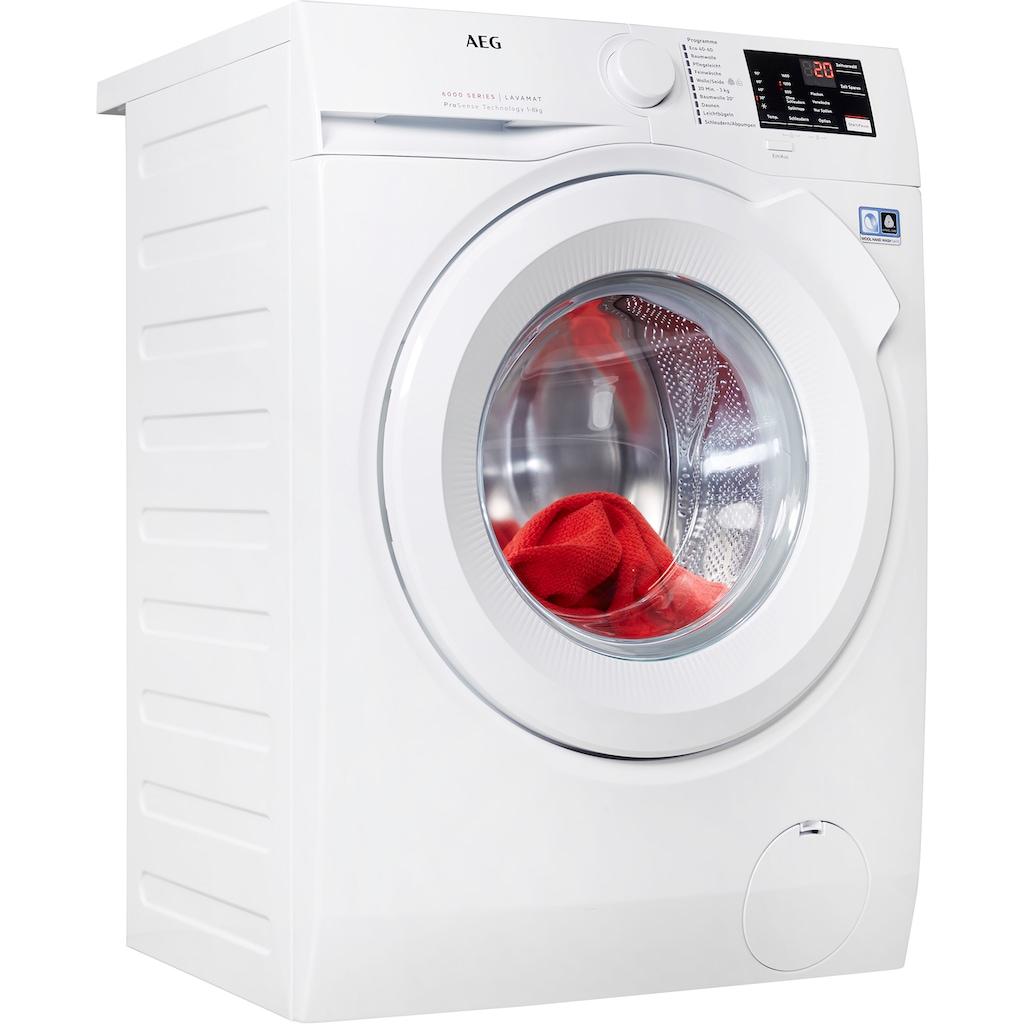 AEG Waschmaschine, L6FBA5680, 8 kg, 1600 U/min