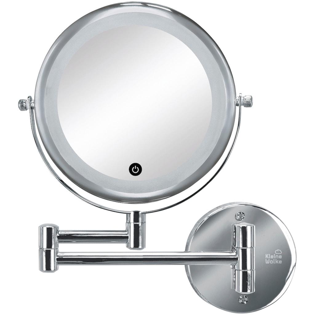 KLEINE WOLKE Kosmetikspiegel »Lumi Mirror«, Silber