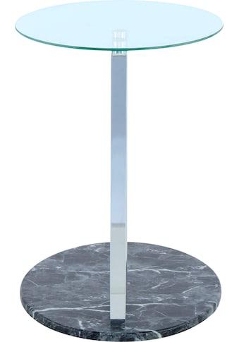 Kayoom Beistelltisch »Beistelltisch Julius 275«, parallele Bodenplatte kaufen