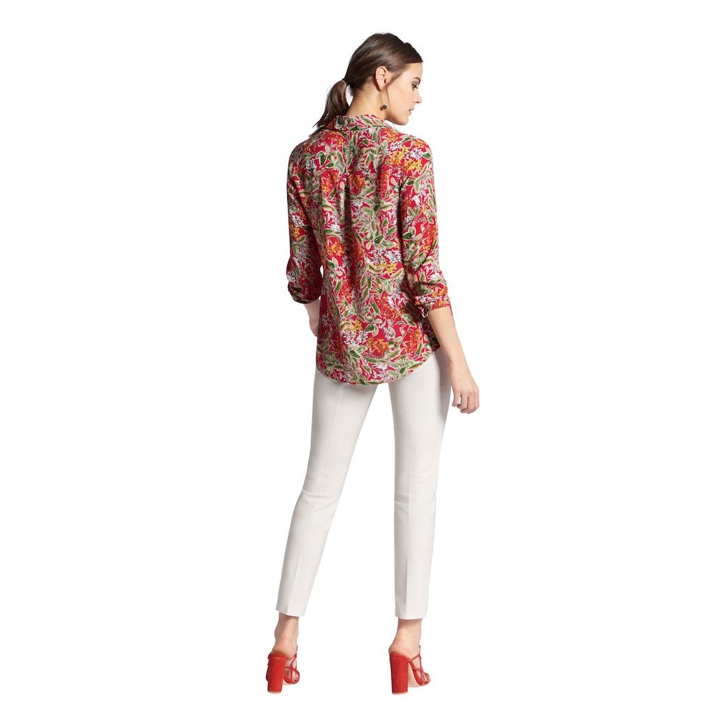 Uta Raasch Hemdbluse »mit Hemdkragen«, und Allover-Muster