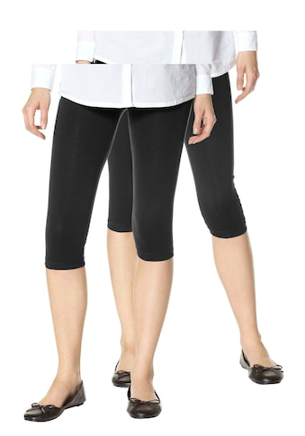 Boysen's Leggings, (Packung, 2er-Pack), in Capri-Länge kaufen