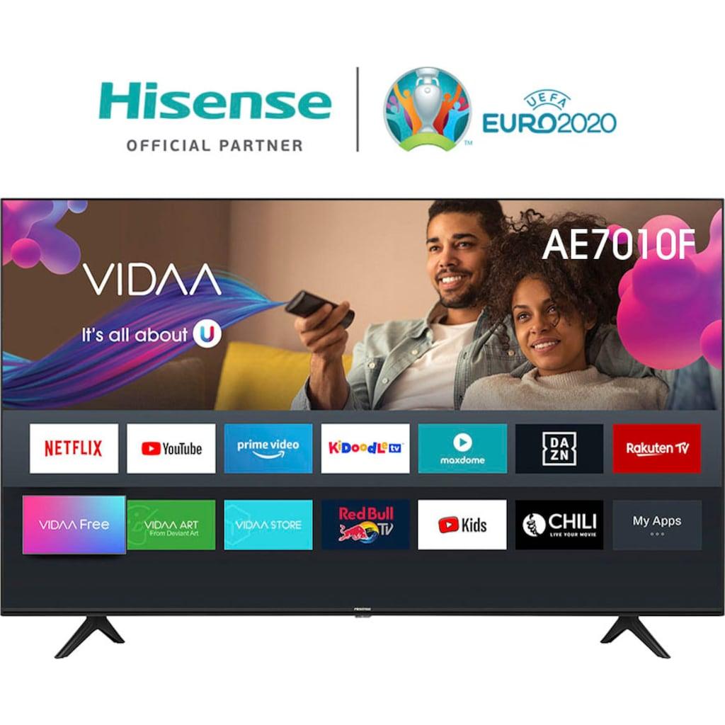 "Hisense LED-Fernseher »75AE7010F«, 189 cm/75 "", 4K Ultra HD, Smart-TV"