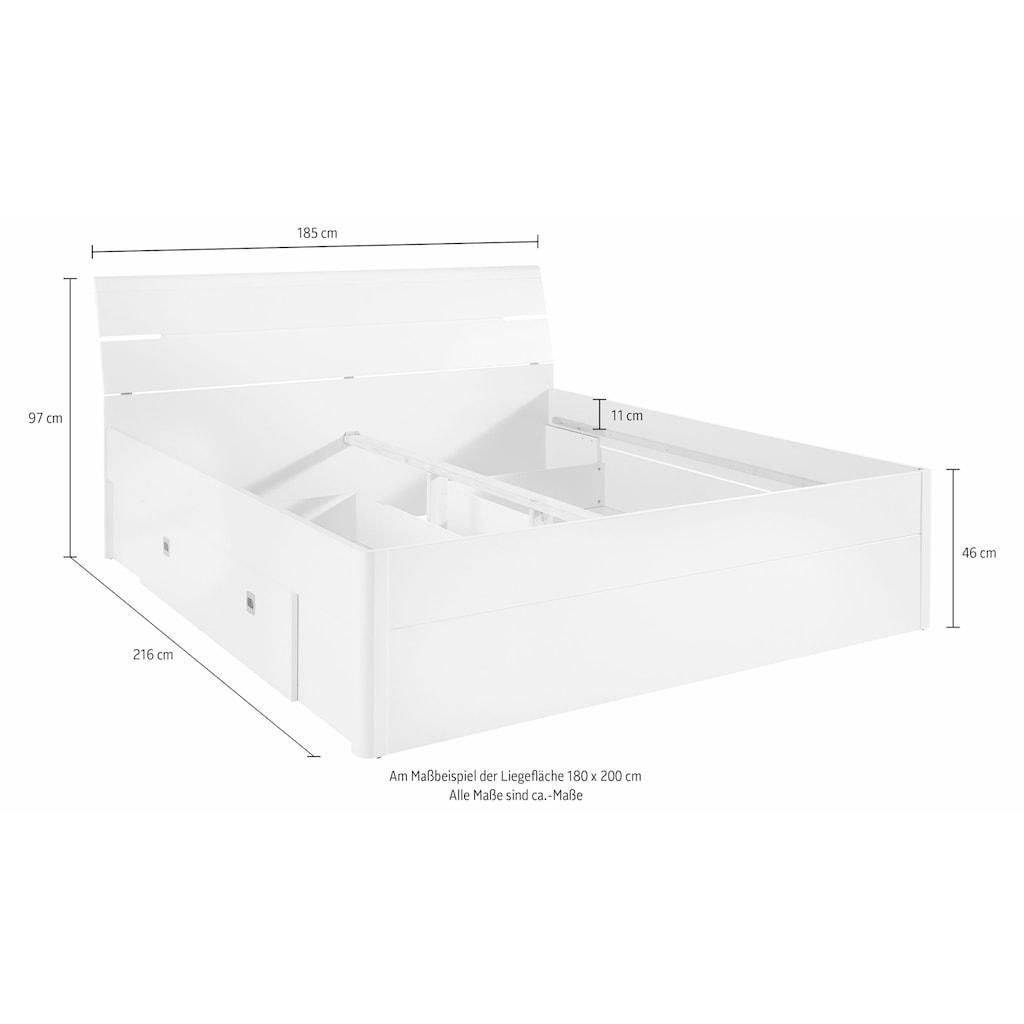 Schlafkontor Stauraumbett »Mars«, inklusive 2 Schubkästen