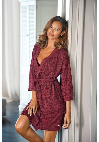 s.Oliver Bodywear Kimono, aus weich fließendem Baumwollmix kaufen