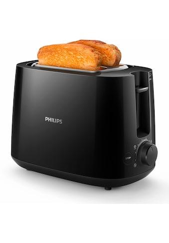 Philips Toaster »HD2581/90 Daily Collection«, 2 kurze Schlitze, 830 W, integrierter... kaufen