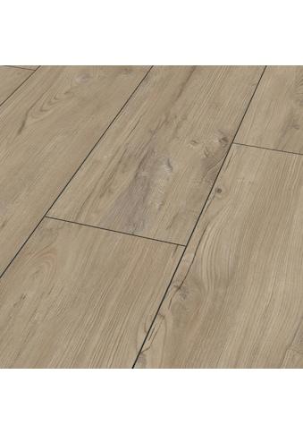 BODENMEISTER Laminat »Dielenoptik Kastanie beige rustikal«, Landhausdiele 1380 x 244 mm, Stärke: 8 mm kaufen