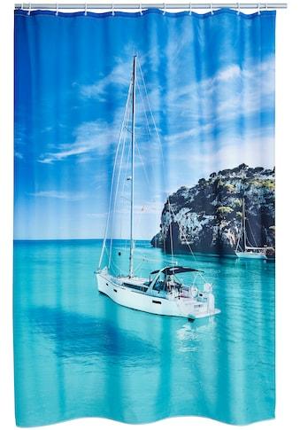 Ridder Duschvorhang »Sailboat«, Breite 180 cm, (1 tlg.), Höhe 200 cm kaufen