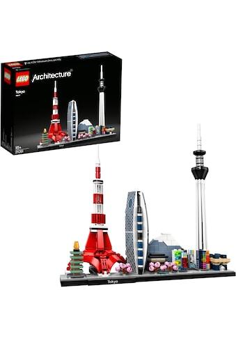 LEGO® Konstruktionsspielsteine »Tokio (21051), LEGO® Achritecture«, (547 St.), Made in... kaufen