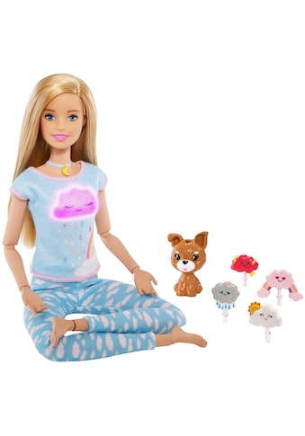 Barbie Anziehpuppe »Wellness Meditation Puppe, blond« kaufen