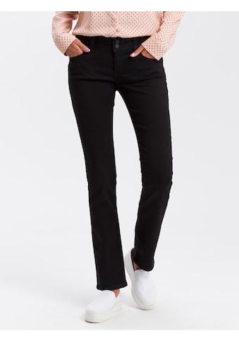 Cross Jeans® Straight-Jeans »Loie«, Doppelter Knopf kaufen