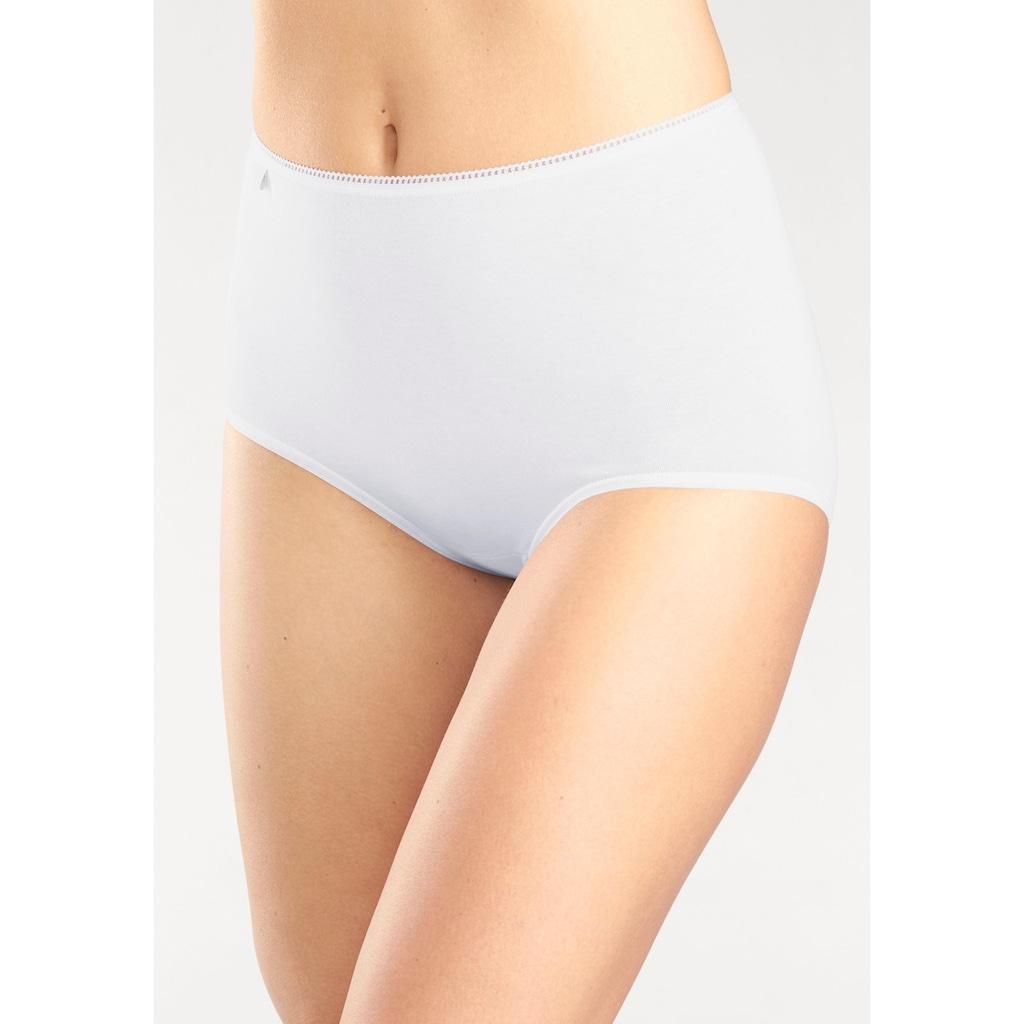 Sloggi Taillenslip »24/7 Cotton«, (3 St.), mit elastischer Mäusezähnchenkante