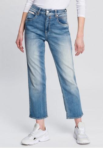 Herrlicher High-waist-Jeans »TOUCH HI TAP«, umweltfreundlich dank Kitotex Technology kaufen