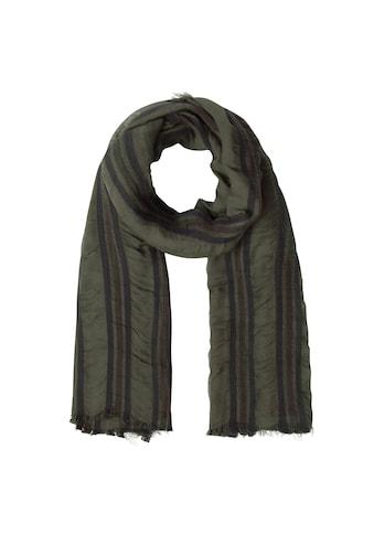 Codello Schal, mit gewebten Streifen - Made in Italy kaufen