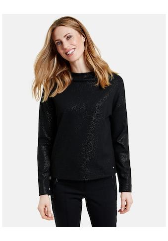 GERRY WEBER Langarmshirt »Langarmshirt mit Glitzer« kaufen