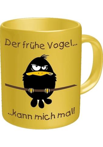 Rahmenlos Kaffeebecher mit lustigem Motiv kaufen